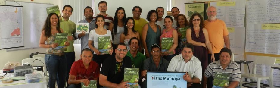 Planos Municipais da Mata Atlantica 2013