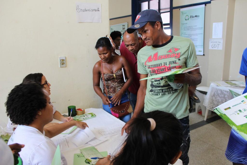 Agricultores de São Miguel das Matas inscrevem-se no evento