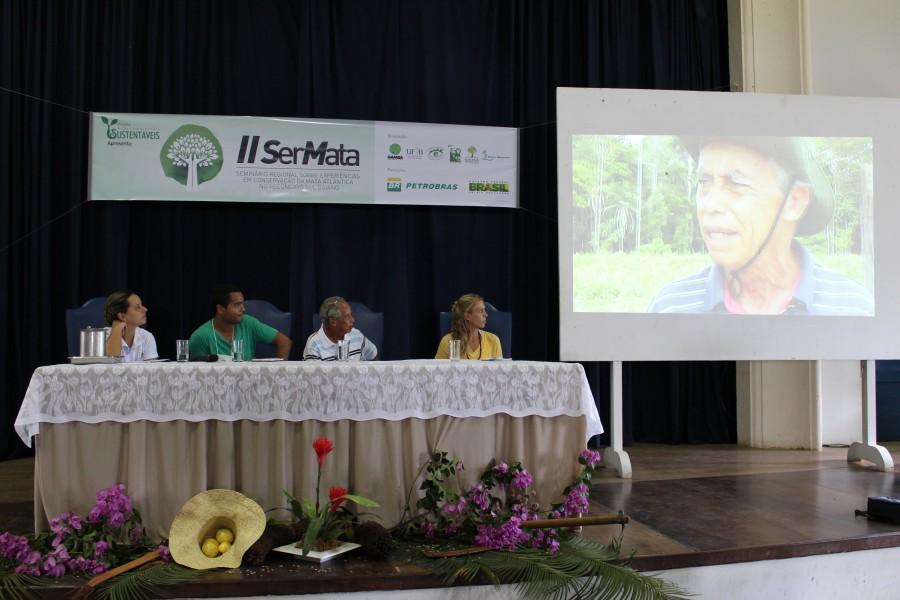 Josaphat Peixoto conta sua experiência como agricultor que também pratica a conservação em sua propriedade