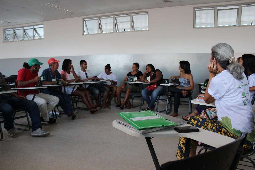 Grupo de Trabalho de Educação Ambiental e Unidades de Conservação conversa sobre a relevância da Serra da Jiboia