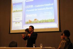 Aldo Carvalho Silva representou o Inema e trouxe novos dados