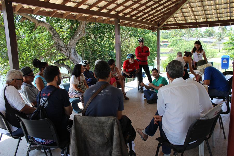 Defensores do Parque Pituaçu têm se reunido todas as sextas feiras pela manhã