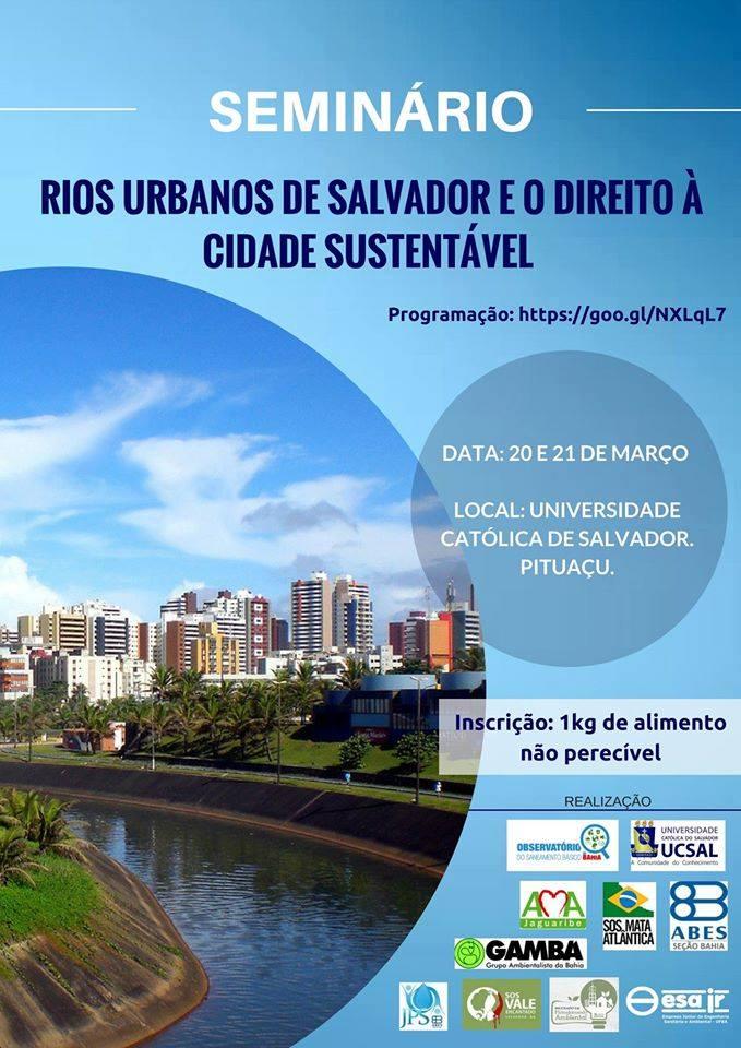 seminário rios urbanos de salvador