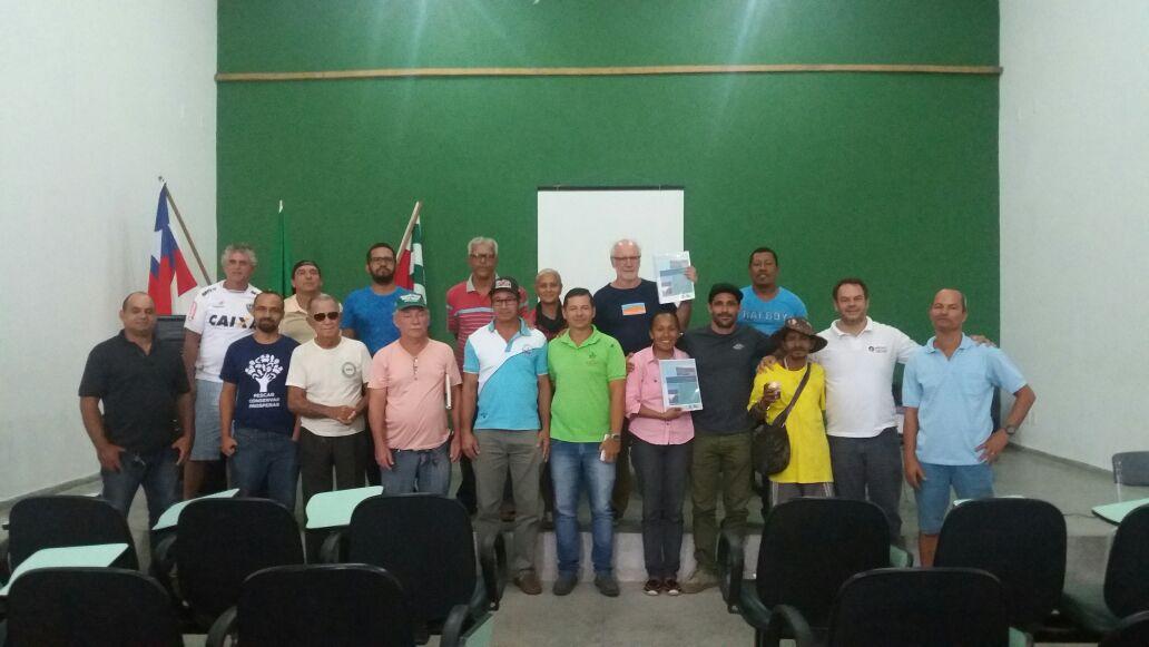 Público presente no lançamento do PMMA de Canavieiras