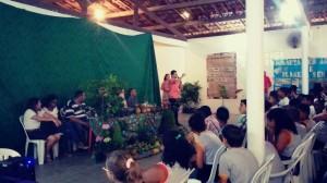 Palestra teve a presença de cerca de 200 alunos e vários representantes da prefeitura