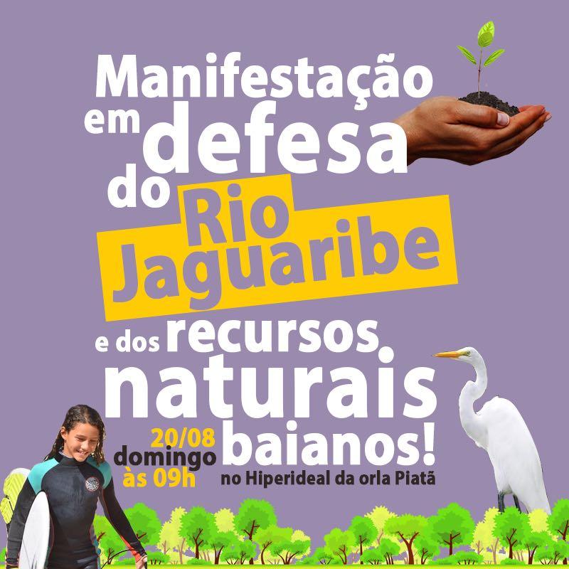 protesto jaguaribe