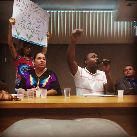 Binho, lider quilombola de Pitanga de Palmares e importante articulador contra o projeto do aterro. Ele foi assassinado em crime ainda não solucionado em outubro de 2017